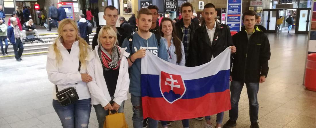Mladí talentovaní Slováci si zmerajú sily so súpermi z celej Európy