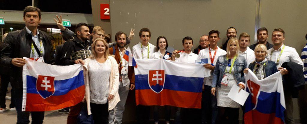 Zlatá medaila pre Slovensko z EuroSkills 2018