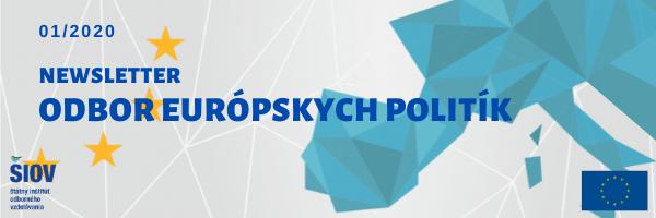 Odbor európskych politík 01/2020